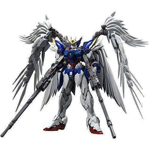 Bandai Hobby Hi-Resolution Model 1/100 Zero Ew Gundam Wing: Endless Waltz Kit Figure: Hobbies- Shop MIXXCI
