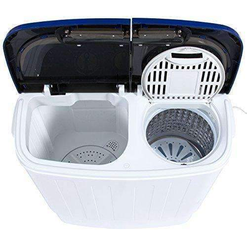 Best Choice Products Portable Compact Mini Twin Tub Washing Machine And Spin Cycle W/ Hose, 13Lbs. Capacity: Appliances- Shop MIXXCI