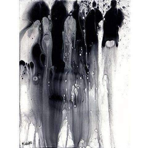 Black/White And Silver/Gray Series 2369.042314: Other Art- Shop MIXXCI