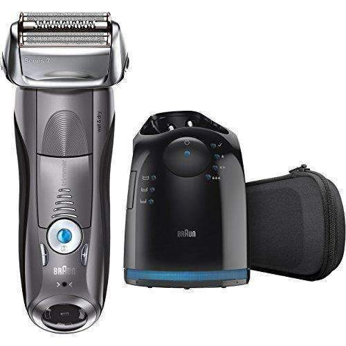 Braun Series 7 790Cc Men'S Electric Foil Shaver / Electric Razor, With Clean & Charge Station, Cordless: Mens Shaving & Hair Removal- Shop MIXXCI