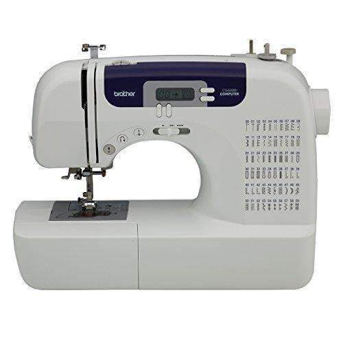 Brother Cs6000I Feature-Rich Sewing Machine With 60 Built-In Stitches, 7 Styles Of 1-Step Auto-Size Buttonholes, Quilting Table, And Hard Cover: Arts, Crafts & Sewing- Shop MIXXCI