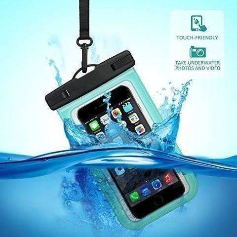 Buylen Universal Waterproof Case With Super Sealability Technology, Cellphone Dry Bag Pouch With Sensitive Pvc Touch Screen: Tech Accessories- Shop MIXXCI