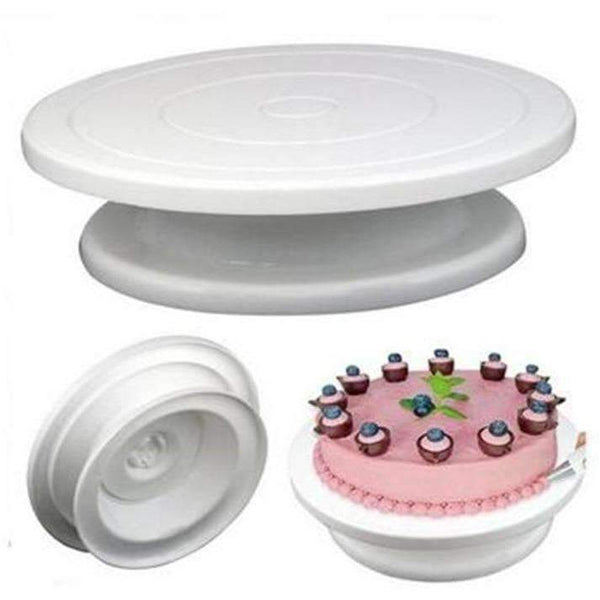 Cake Rotating Turntable: Bakeware- Shop MIXXCI