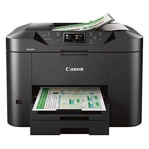 Canon Office And Business Mb2720 Wireless All-In-One Printer, Scanner, Copier And Fax With Mobile And Duplex Printing: Computer Printers- Shop MIXXCI
