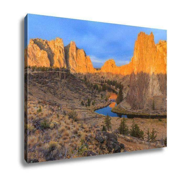 Canvas, Smith Rock State Park, 16X20: Canvas- Shop MIXXCI