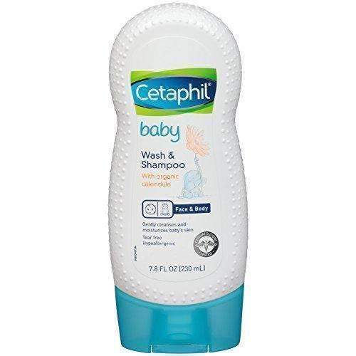 Cetaphil Baby Wash And Shampoo With Organic Calendula, 7.8 Ounce: Hair Care Products- Shop MIXXCI