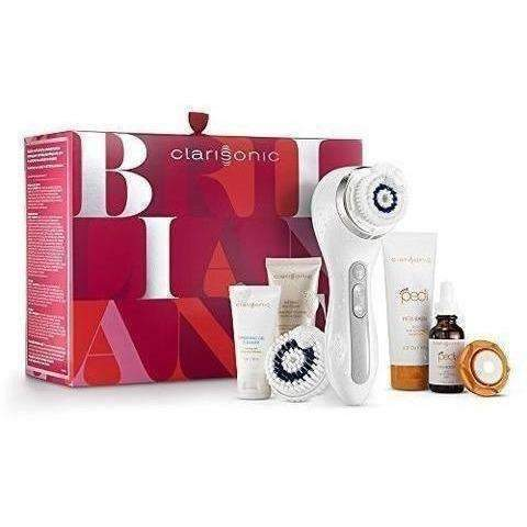 Clarisonic Smart Profile, 4 Speed Sonic Facial Cleansing Brush System, Holiday Set: Tools & Brushes- Shop MIXXCI