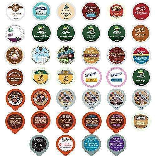 Coffee Variety Sampler Pack For Keurig K-Cup Brewers,  40 Count (Selection May Vary): Grocery & Gourmet Food- Shop MIXXCI