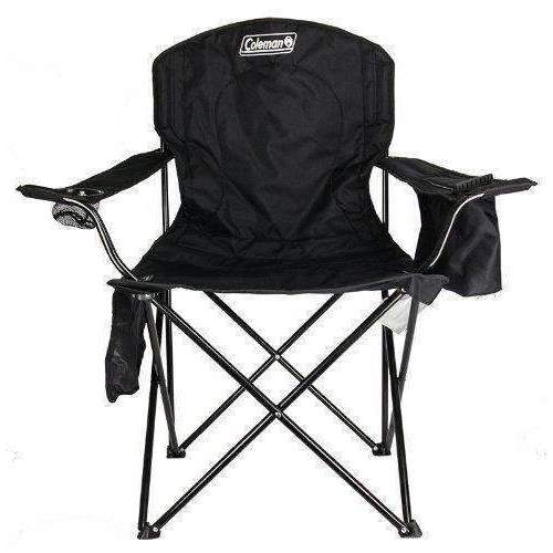 Coleman Oversized Quad Chair With Cooler: Outdoor Recreation- Shop MIXXCI