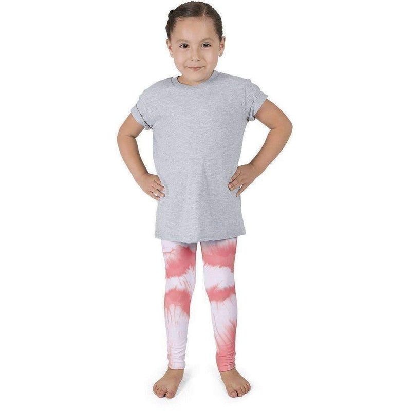 Coral Print Kid'S Leggings, 2T (1-2yr): Baby Apparel- Shop MIXXCI