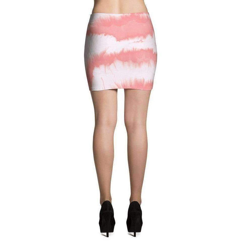 Coral Printed Mini Skirt: Women's Skirts- Shop MIXXCI