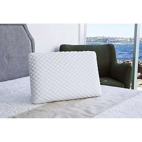 Cr Sleep Ventilated Memory Foam Bed Pillow With Aircell Technology: - Shop MIXXCI