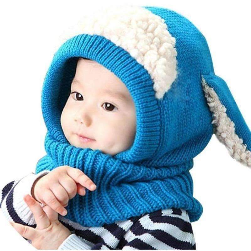 Cute Bunny Childrens Hat, Blue: Baby Apparel- Shop MIXXCI