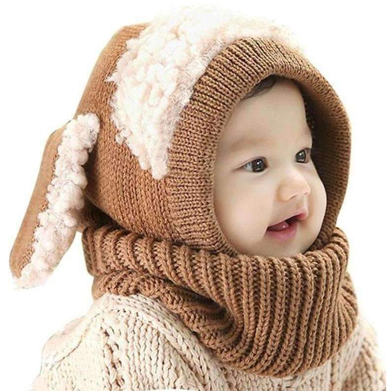 Cute Bunny Childrens Hat, Brown: Baby Apparel- Shop MIXXCI
