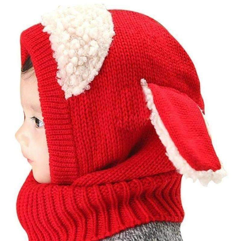 Cute Bunny Childrens Hat, Red: Baby Apparel- Shop MIXXCI