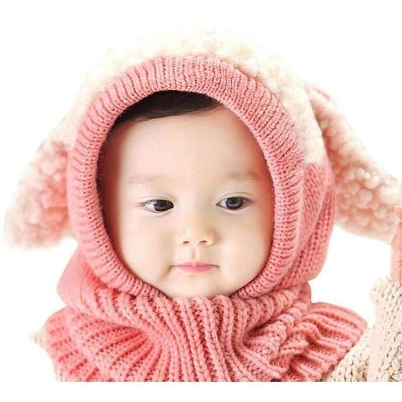 Cute Bunny Childrens Hat, Pink: Baby Apparel- Shop MIXXCI