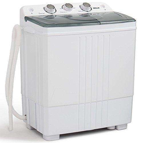 Della Small Compact Portable Washing Machine 11lbs Capacity with Spin Dryer: Appliances- Shop MIXXCI