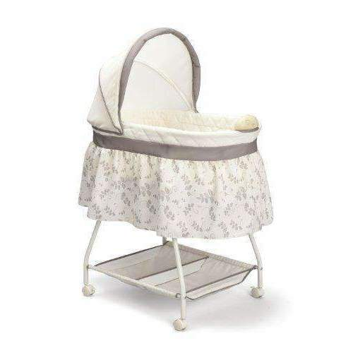 Delta Children Sweet Beginnings Bassinet, Falling Leaves: Bassinet- Shop MIXXCI
