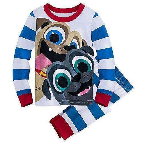 Disney Bingo And Rolly Pj Set For Kids - Puppy Dog Pals: Boys Clothing- Shop MIXXCI
