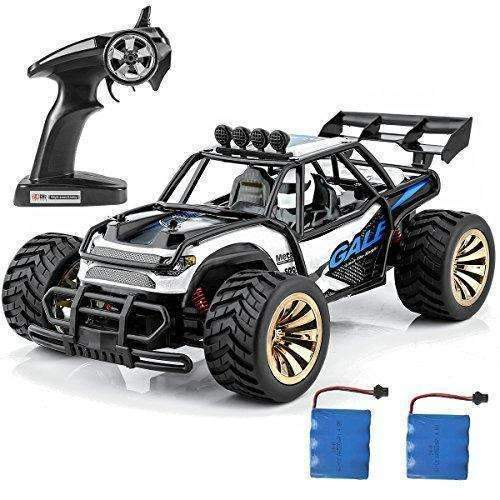 Distianert 1:16 Scale Electric Rc Car Off Road Vehicle 2.4Ghz Radio Remote Control Car 2W High Speed Racing Monster Truck: Hobbies- Shop MIXXCI