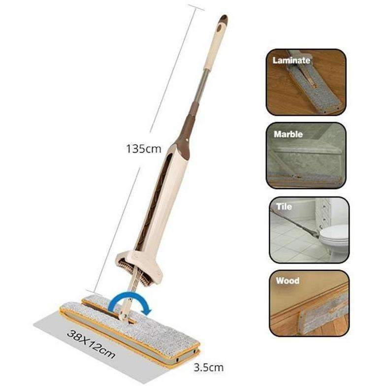 Double Sided Lazy Mop: tools&accessories- Shop MIXXCI
