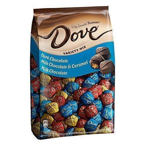 Dove Promises Variety Mix Chocolate Easter Candy 43.07-Ounce 153-Piece Bag: Grocery & Gourmet Food- Shop MIXXCI