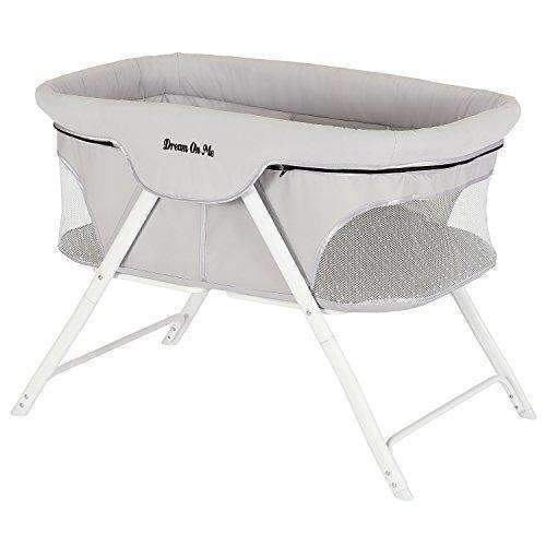Dream On Me Traveler Portable Bassinet, Cloud Grey: Bassinet- Shop MIXXCI
