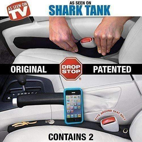 Drop Stop - The Original Patented Car Seat Gap Filler - Set Of 2 (As Seen On Shark Tank): New- Shop MIXXCI