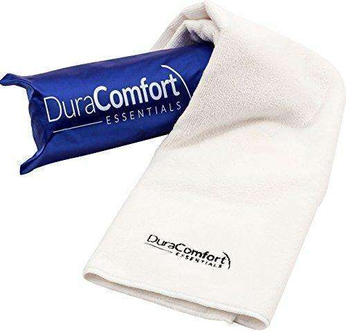 Duracomfort Essentials Super Absorbent Anti-Frizz Microfiber Hair Towel, Large 41 X 19-Inches: - Shop MIXXCI