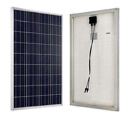 Eco-Worthy 400W Solar Panel Kit: 4Pcs 100W Solar Panel+ 20A Mppt Charge Controller+ Solar Cable Adaptor+ Z Bracket Mounts+ 100Ah Agm Battery: - Shop MIXXCI