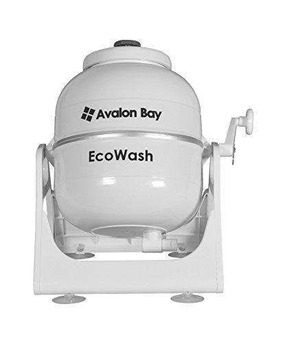 Ecowash Portable Hand Cranked Manual Clothes Non-Electric Washing Machine by Avalon Bay, Counter Top Washer for Camping, Apartments, RV's, or Delicates: Appliances- Shop MIXXCI