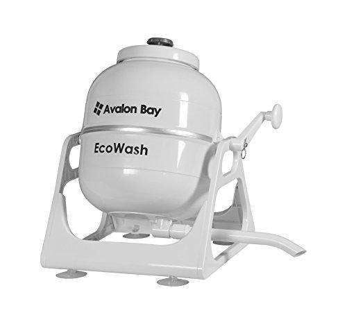 Ecowash Portable Hand Cranked Manual Clothes Non-Electric Washing Machine By Avalon Bay, Counter Top Washer For Camping, Apartments, Rv'S, Or Delicates: - Shop MIXXCI