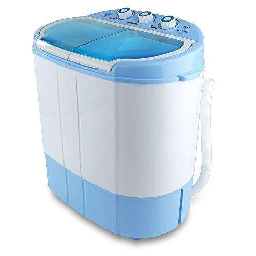 Electric Portable Washing Machine & Spin Dryer Compact Durable Design To Wash All your Laundry  Twin Tub Washer | for Apartments,  Dorms, College Rooms, RV Camping Swim Suit Spinner Dryer (PUCWM22): Appliances- Shop MIXXCI