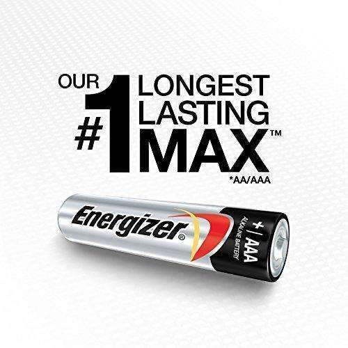 Energizer Aaa Batteries, Triple A Battery Max Alkaline (24 Count) E92Bp-24: Health & Household- Shop MIXXCI