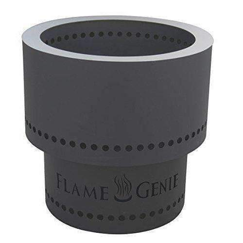Flame Genie Fg-16 Inferno Pellet Fire Pit, Black: Fire Pits & Outdoor Fireplaces- Shop MIXXCI