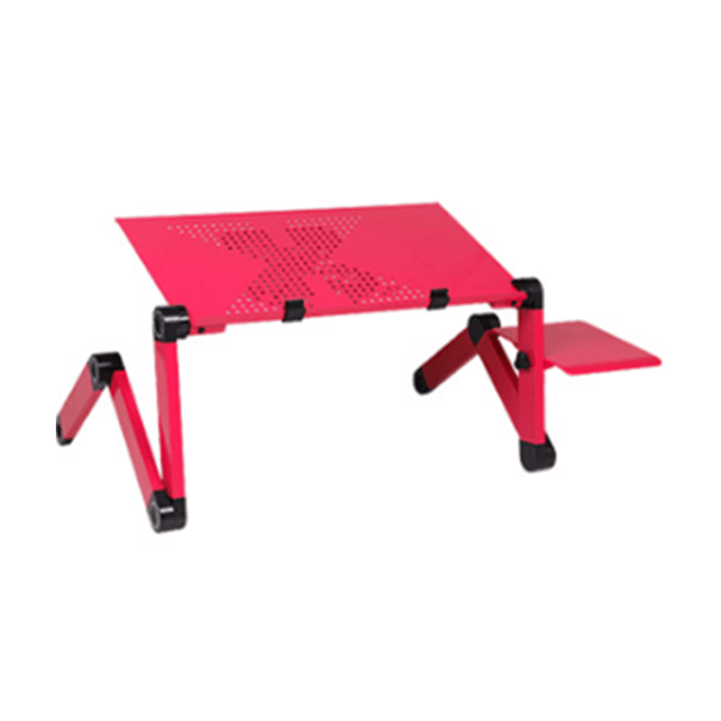 Folding Laptop Desk, Red: Networking- Shop MIXXCI