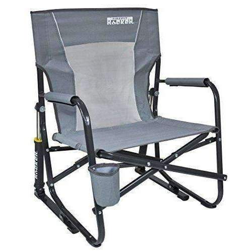 Gci Outdoor Firepit Rocker Portable Folding Low Rocking Chair: Patio Chairs- Shop MIXXCI