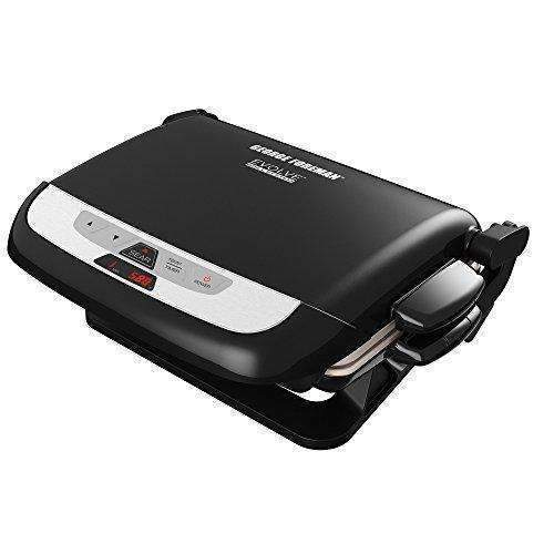 George Foreman Grp4842Mb Multi-Plate Evolve Grill, (Ceramic Grilling Plates, And Waffle Plates Included), Black: Outdoor Grills- Shop MIXXCI