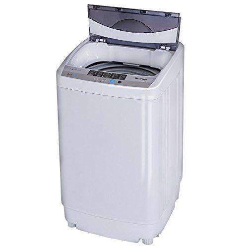 Giantex Portable Compact Full-Automatic Washing Machine 1.6 Cu.Ft Laundry Washer Spin With Drain Pump: Appliances- Shop MIXXCI