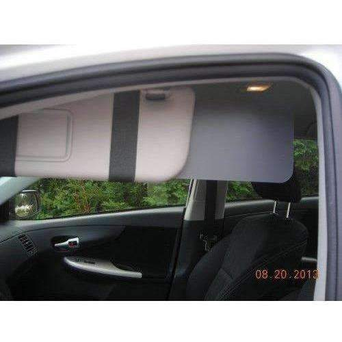 Gray Set Of Visormates- Side Window Sun Visor Extenders: New- Shop MIXXCI
