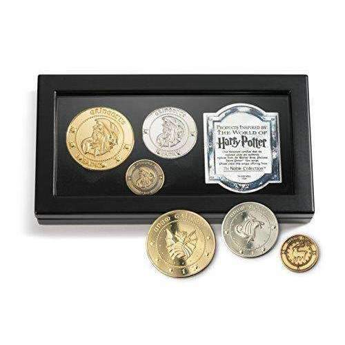 Harry Potter Gringotts Bank Coin Collection: Hobbies- Shop MIXXCI