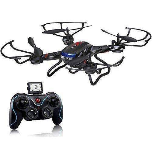 Holy Stone F181C Rc Quadcopter Drone With Hd Camera Rtf 4 Channel 2.4Ghz 6-Gyro With Altitude Hold Function,Headless Mode And One Key Return Home, Color Black: Hobbies- Shop MIXXCI