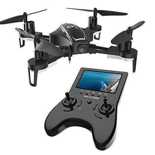 Holy Stone Hs230 Rc Racing Fpv Drone With 120° Fov 720P Hd Camera Live Video 45Km/H High Speed Wind Resistance Quadcopter With 5.8G Lcd Screen Real Time Transmitter Includes Bonus Battery: Hobbies- Shop MIXXCI