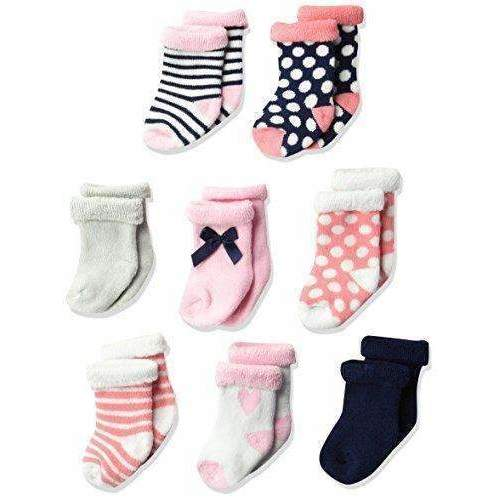 Hudson Baby Infant & Toddler Socks, 8-Pack: Baby- Shop MIXXCI