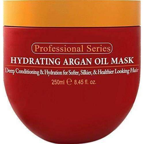Hydrating Argan Oil Hair Mask And Deep Conditioner By Arvazallia For Dry Or Damaged Hair - 8.45 Oz: Hair Care Products- Shop MIXXCI