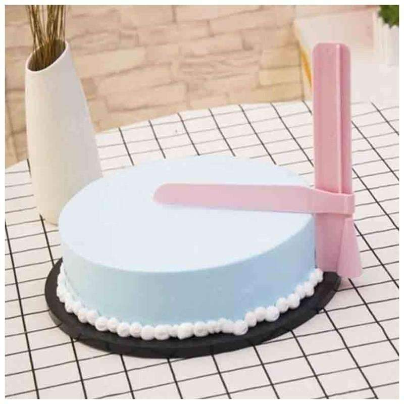 Icing Smoother Cake Scraper: Kitchen & Dining- Shop MIXXCI