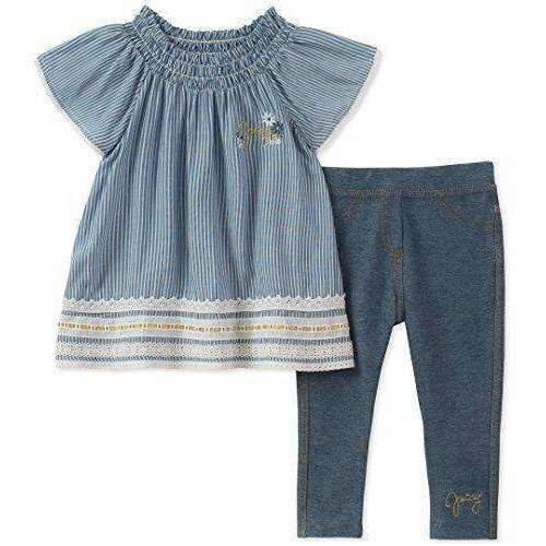Juicy Couture Girls' Fashion Top And Legging Set: Girls Clothing- Shop MIXXCI
