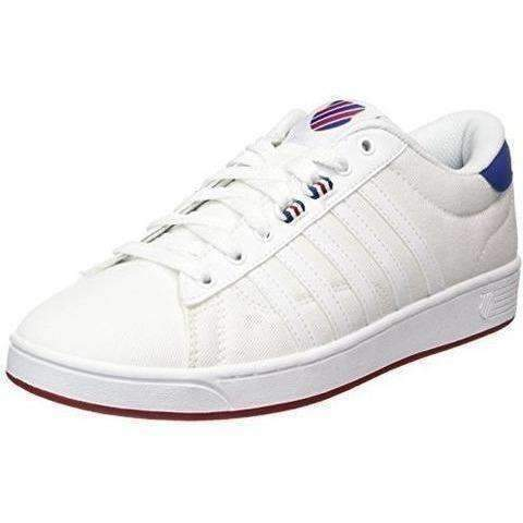 K-Swiss Men'S Hoke T Cmf Fashion Sneaker, White/Limoges/Chili Pepper: Men's Shoes- Shop MIXXCI