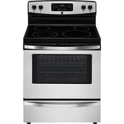 Kenmore 94173 5.3 Cu. Ft. Self Clean Electric Range In Stainless Steel, Includes Delivery And Hookup (Available In Select Cities Only): Appliances- Shop MIXXCI