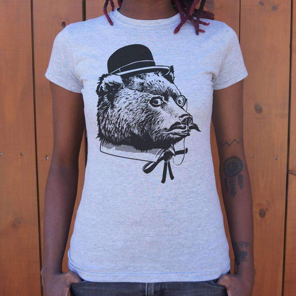 Ladies Fancy Bear T-Shirt: T-Shirt- Shop MIXXCI